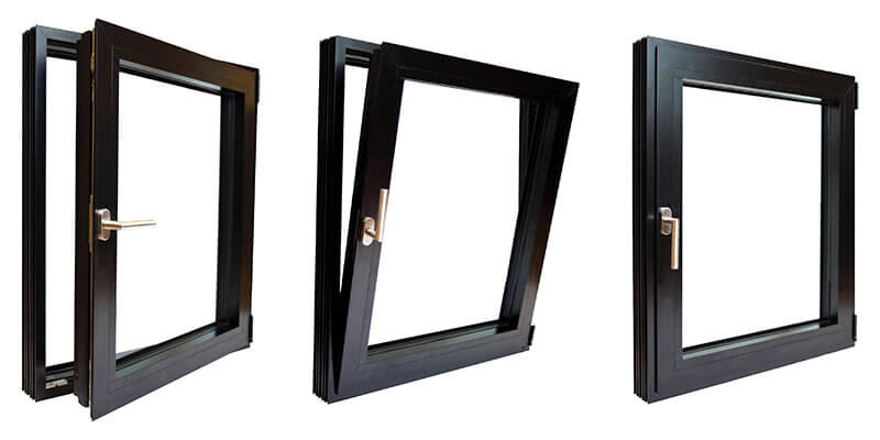 Inswinging Casement Windows - Turn and Tilt (ICWT) Series