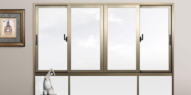 Sliding Windows (SW) Series Heat insulation Broken Bridge Aluminum Push-pull Window 009