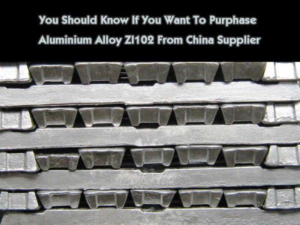 Aluminium Alloy Zl102
